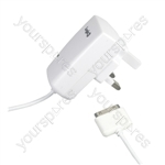 AC Mains Adaptor for iPhone & iPod - UK