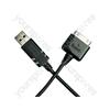 iPad-iphone-ipod Usb Data Cable - Black
