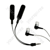 Deluxe Audio Splitter & Earphones