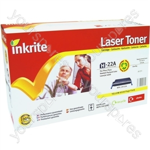 Inkrite Laser Toner Cartridge compatible with HP 4600Y Yellow