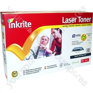 Inkrite Laser Toner Cartridge Compatible with HP Colour LaserJet CP4005 Black