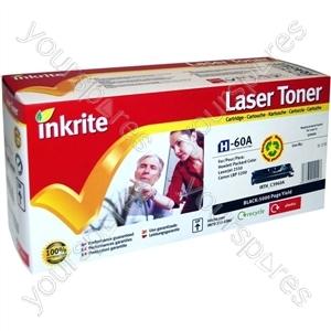 Inkrite Laser Toner Cartridge Compatible with HP Colour LaserJet 2550 Black