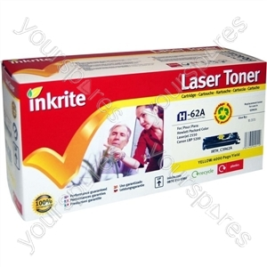 Inkrite Laser Toner Cartridge Compatible with HP Colour LaserJet 2550 Yellow