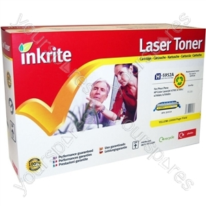 Inkrite Laser Toner Cartridge Compatible with HP Colour LaserJet 4700 Yellow