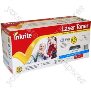 Inkrite Laser Toner Cartridge Compatible with HP 1600/2600/2605 Cyan