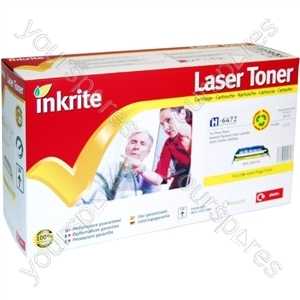 Inkrite Laser Toner Cartridge Compatible with HP Colour LaserJet 3600 Yellow