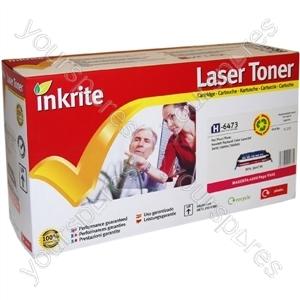 Inkrite Laser Toner Cartridge Compatible with HP Colour LaserJet 3600 Magenta
