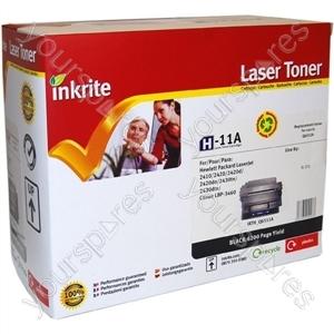 Inkrite Laser Toner Cartridge Compatible with HP 2410/2420/2430 Black (Standard-Cap)
