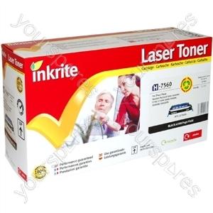 Inkrite Laser Toner Cartridge compatible with HP Color Laserjet 2700/3000 Black