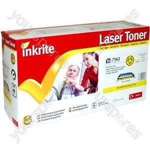 Inkrite Laser Toner Cartridge compatible with HP Color Laserjet 2700/3000 Yellow