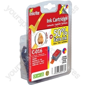 Canon Pixma mini220 NG Printer Ink for i70 i80 Pixma iP90 iP90v mini220 - BCI-15C BCI-16C Colour (Chick)