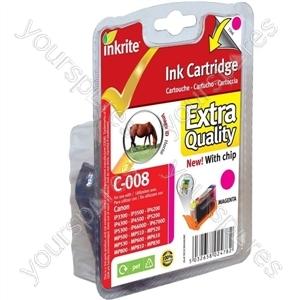 Inkrite NG Printer Ink (Chipped) Canon iP3300 4200 4300 5200 ix4000 MP500 - CLI-8M Magenta (Horse)