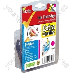 Inkrite NG Printer Ink for Epson C64 C66 C84 C86 CX6400 CX6600 CX3600 - T044340 Magenta (Shell)