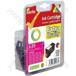 Inkrite NG Ink Cartridges (No.35) for Lexmark P450 P4350 - 18C0035 Clr