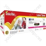Inkrite Laser Toner Cartridge Compatible with HP Colour Laserjet CP1215/1515n/CM1312 Magenta
