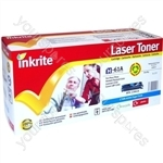 Inkrite Laser Toner Cartridge Compatible with HP Colour LaserJet 2550 Cyan