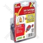 Inkrite NG Printer Ink for Canon i70 i80 Pixma iP90 iP90v mini220 - BCI-15C BCI-16C Colour (Chick)