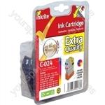 Canon MultiPass 450 NG Printer Ink i250 i350 i4xx S200 S300 BJC 2000 4000 - BCI-21C BCI-24C Color (Crab)