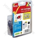 Inkrite NG Printer Ink for Epson C42 C44 C46 - T036 Black (Ladybird)