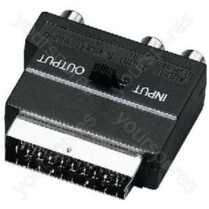 SCART Adaptor - Audio/video Scart Adapter