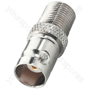 F Connector - Adapter F jack/bnc Jack