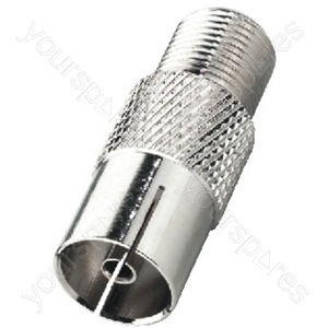 F Connector - Adapter F Jack/coaxial Antenna Inline Jack