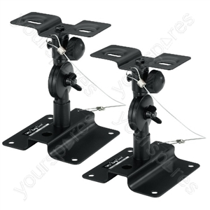 Speaker Wall Holder - Pair Of Universal Supports