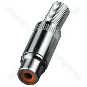 Cinch Coupling - Rca Plug-in Connectors