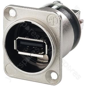 USB Chassis Connector - Usb Feed-through Panel Jacks