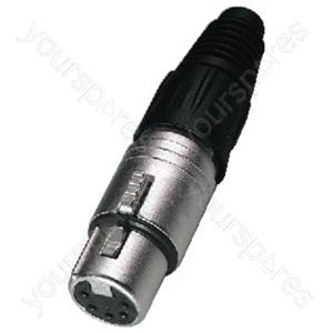 XLR Jack - Xlr Inline Jack, 5poles