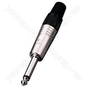 6.3mm Mono Plug - Neutrik 6.3mm Mono Plug
