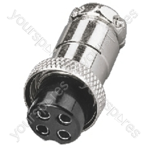 4-Pin Mike Connector