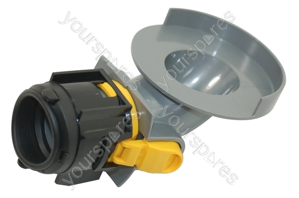 Hydraulics Assembly Pipe : Valve pipe assembly steel yellow dys by dyson