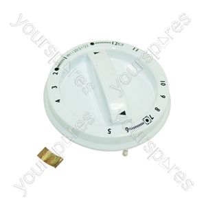Hoover White Wash Cycle Selector Knob
