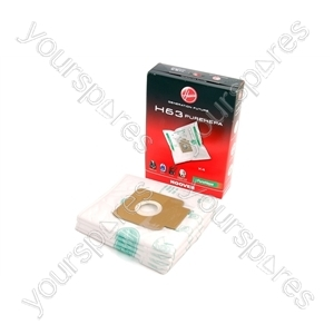 Hoover Disposable Vacuum Bags (H63) - 4 Bags