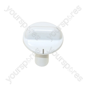 Candy White Grill Control Knob