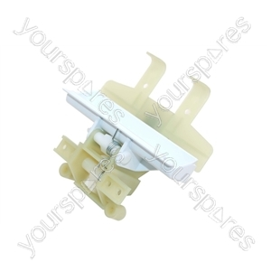 Indesit Door Catch Mechanism Assembly -white