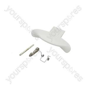 Indesit White Washing Machine Door Handle Kit