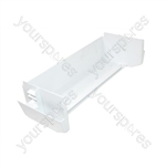 Servis White Plastic Fridge Door Bottle Shelf
