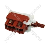 Hoover A1101 Washing Machine On/Off Switch Assembly