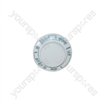 Hoover CE94 White Washing Machine Timer Knob