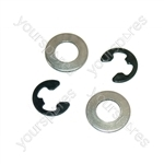 Wheel Rear Fastener Pack