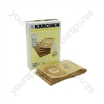 Karcher Dust Bag (Pack of 5)