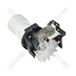 Indesit Washing Machine Plaset Drain Pump - 90 Watts