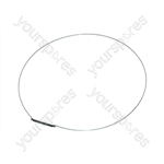Indesit WG1034TPG Clamping Ring - Bellows Seal Front