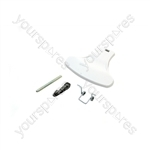 Indesit White Washing Machine Door Handle Kit
