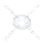 Indesit White Cooker Control Knob Disc