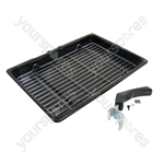 Hotpoint GW32N Universal Grill Pan Assembly - 380 x 280 mm