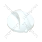 Indesit White Short Shaft Cooker Control Knob