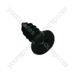 Hotpoint 10106 Screw M4 X 6mm Black
